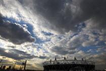 Olympic stadium, Olympic Park, Stratford, East London. - Jess Hurd - 16-04-2012