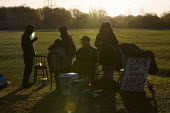 Protestors at the Leyton Marsh anti olympic protest camp. Hackney, East London. - Jess Hurd - 10-04-2012