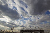 View of the Olympic stadium, Olympic Park, Stratford. East London. - Jess Hurd - 16-04-2012