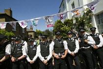 UK Uncut Great London Street Party outside Nick Clegg MPs London home. Putney. - Jess Hurd - 26-05-2012
