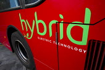 Hybrid diesel electric Technology Metroline bus which gives 30% better fuel economy (mpg), ComfortDelGro UK. London. - Jess Hurd - 19-01-2012