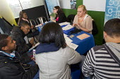 Joint Apprenticeships Open Day event with Stephen Lawrence Charitable Trust and unionlearn SERTUC, Stephen Lawrence Centre, Deptford, London. - Jess Hurd - &,2010s,2012,BAME,BAMEs,Black,BME,bmes,Business,cities,city,diversity,EBF,Economic,Economy,Ethnic,ethnicity,Finance,FINANCIAL,member,member members,members,minorities,Minority,people,poc,Trade Union,T
