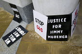 Justice for Jimmy Mubenga. Protesters demonstrate outside the private security company G4S Annual General Meeting calling for an end to the firms involvement in human rights abuses around the world fr... - Jess Hurd - 2010s,2012,activist,activists,against,AGM,CAMPAIGN,campaigner,campaigners,CAMPAIGNING,CAMPAIGNS,center,company,corporate,custody,death,deaths,DEMONSTRATING,demonstration,DEMONSTRATIONS,deportation,dep
