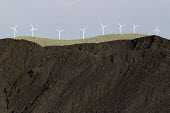 Grado Windfarm and coal waste, Castillia. Northern Spain. - Jess Hurd - 18-06-2012