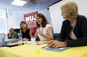 "NUJ Womens' Conference, Don't Tweet me this way "" the modern media "" still sexist and not just on paper. Scarlett Harris, the TUC Womens Equality Officer (speaking) with Michelle Stanistreet NUJ G... - Jess Hurd - 04-07-2012"