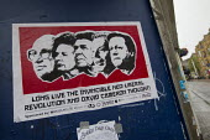 Anti neo liberal capitalism poster, Brighton. - Jess Hurd - 2010s,2012,capitalism,capitalist,David Cameron,liberal,liberals,Margaret Thatcher,POL,political,POLITICIAN,POLITICIANS,Politics,poster,POSTERS,Reagan,Ronald,Tony Blair