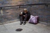 Paul (52) is homeless after a breakdown following his divorce. He has been issued a court order restricting him from begging in his usual patch near Tower Bridge, Tower Hamlets, East London. - Jess Hurd - 2010s,2012,baggar,beg,beggar,beggars,BEGGER,begging,begs,Bridge,charitable,charity,cities,city,court,destitute,EQUALITY,excluded,exclusion,giving,HARDSHIP,help,helping,HELPS,homeless,homelessness,impo