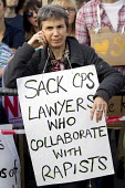 Sack CPS lawyers who collaborate with rapists. Slutwalk against rape and sexual violence, for safety and justice. London. - Jess Hurd - 22-09-2012