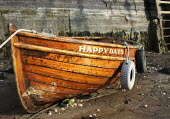 Happy Days fishing boat in Broadstairs Harbour, Kent. - Jess Hurd - 15-09-2012