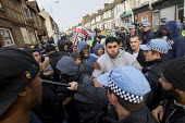 Local people are stopped from protesting against the EDL. A march and rally by the English Defence League is stopped by thousands of local anti-fascist protesters We Are Waltham Forest, who blocked th... - Jess Hurd - 01-09-2012