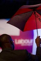 Ed Miliband MP Q&A. Labour Party Conference 2012, Manchester. - Jess Hurd - 2010s,2012,Conference,conferences,delegate,delegates,Party,POL,political,POLITICIAN,POLITICIANS,Politics,SPEAKER,SPEAKERS,speaking,SPEECH,umbrella,umbrellas