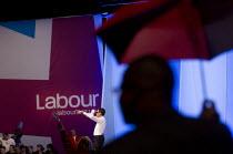 Ed Miliband MP Q&A. Labour Party Conference 2012, Manchester. - Jess Hurd - ,2010s,2012,Conference,conferences,delegate,delegates,Party,POL,political,POLITICIAN,POLITICIANS,Politics,SPEAKER,SPEAKERS,speaking,SPEECH,umbrella,umbrellas