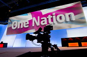 One Nation stage set. Labour Party Conference 2012, Manchester. - Jess Hurd - 03-10-2012