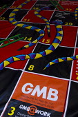 GMB Snakes and Ladders poverty game. TUC 2012 Brighton. - Jess Hurd - 11-09-2012
