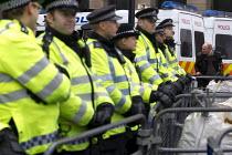 Video journalist Jason Parkinson, National Student Demonstration - Educate, Employ, Empower. Westminster Bridge, London. - Jess Hurd - 21-11-2012