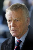 Max Mosley. The final report of the Leveson Enquiry into media ethics is delivered by Lord Leveson. QEII Centre, London. - Jess Hurd - 29-11-2012