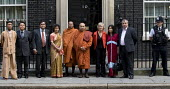 Brendan Barber TUC and delegation at No 10 Downing Street. A global day of action for democracy in Burma, London. - Jess Hurd - &,2000s,2007,activist,activists,Amnesty,BAME,BAMEs,belief,BME,bmes,Brendan Barber,buddha,Buddhism,buddhist,buddhists,Burma,Burmese,campaign,campaigning,CAMPAIGNS,conviction,democracy,DEMONSTRATING,dem