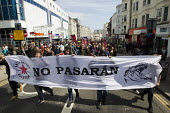 Anti fascist opposition to the March for England, Brighton. - Jess Hurd - 21-04-2013