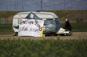 Ground the Drones protest at Waddington Military Air Base, Lincoln. - Jess Hurd - 27-04-2013