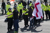 March for England demonstrators stopped and searched, Brighton. - Jess Hurd - 21-04-2013