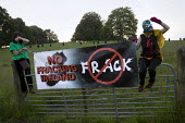 No Fracking Ireland. Protest against the G8 Summit, Fermanagh. Northern Ireland. - Jess Hurd - 17-06-2013
