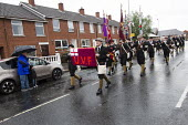Loyalist, UVF marching bands in East Belfast. Northern Ireland. - Jess Hurd - 2010s,2013,loyalism,loyalist,loyalists,marching,parade,Pol,political,POLITICIAN,POLITICIANS,Politics,Protestant,Protestantism,Protestants,rlb religion & belief Irish