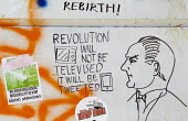 Social media Revolution will not be televised it will be tweeted.... Graffiti supporting Gezi Park protests, which escalated across the country against Prime Minister Tayyip Erdogan, his AKP governmen... - Jess Hurd - 10-06-2013