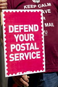 Save our Royal Mail. CWU protest against privatisation of the Post Office at Royal Mail HQ, London. - Jess Hurd - 2010s,2013,activist,activists,against,Anti privatisation,Anti privatisation,anti privatization,CAMPAIGN,campaigner,campaigners,CAMPAIGNING,CAMPAIGNS,cwu,DEMONSTRATING,demonstration,DEMONSTRATIONS,Mail
