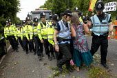 Protest camp against Fracking company Cuadrilla Resources who are about start drilling in Balcombe, West Sussex. - Jess Hurd - 31-07-2013