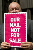 Dave Ward CWU Deputy Gen Sec. Save our Royal Mail. CWU protest against privatisation of the Post Office at Royal Mail HQ, London. - Jess Hurd - 2010s,2013,ACTIVIST,ACTIVISTS,against,Anti privatisation,Anti privatisation,anti privatization,CAMPAIGN,campaigner,campaigners,CAMPAIGNING,CAMPAIGNS,cwu,DEMONSTRATING,demonstration,DEMONSTRATIONS,Mail