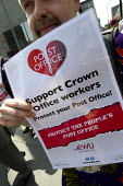 Supporting Crown Post Offices. CWU march from Broadway Crown Office picket line to a rally at Portcullis House, Westminster. - Jess Hurd - against,Anti privatisation,cwu,Post Office,Postal Service,Protest,Demonstration,strike,strikes,Trade Union,Trades Union,trades unions,trade union,trades union,trades unions,striking,activist,activists
