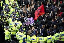Protest against the English Defence League. Altab Ali Park, Tower Hamlets, East London. - Jess Hurd - 2010s,2013,activist,activists,adult,adults,against,anti,anti racist,bigotry,CAMPAIGN,campaigner,campaigners,CAMPAIGNING,CAMPAIGNS,CLJ,Defence,DEFENSE,DEMONSTRATING,demonstration,DEMONSTRATIONS,DISCRIM