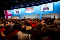 Ed Balls MP. Labour Party Conference 2013. Brighton. - Jess Hurd - 23-09-2013