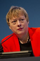 Angela Eagle MP. Labour Party Conference 2013. Brighton. - Jess Hurd - 2010s,2013,Conference,conferences,FEMALE,Party,people,person,persons,Pol,political,POLITICIAN,POLITICIANS,Politics,woman,women