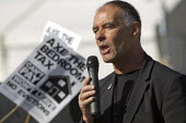 Tommy Sheriden. Axe the bedroom tax protest outside Liberal Democrats Conference, Glasgow. - Jess Hurd - 14-09-2013