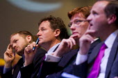 Nick Clegg MP during the Economy debate. Liberal Democrats Conference, Glasgow. - Jess Hurd - 2010s,2013,Conference,conferences,democrat,democrats,economic,Economy,liberal,liberals,party,POL,political,POLITICIAN,POLITICIANS,Politics
