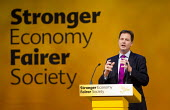 Nick Clegg MP speaking in the Economy debate. Liberal Democrats Conference, Glasgow. - Jess Hurd - 2010s,2013,Conference,conferences,democrat,democrats,economic,Economy,liberal,liberals,party,POL,political,POLITICIAN,POLITICIANS,Politics,SPEAKER,SPEAKERS,speaking,SPEECH