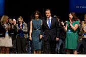 David Cameron speaking Conservative Party Conference 2013. Manchester. - Jess Hurd - 02-10-2013