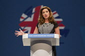 Karren Brady from The Apprentice. Conservative Party Conference 2013. Manchester. - Jess Hurd - 2010s,2013,Conference,conferences,CONSERVATIVE,Conservative Party,conservatives,Party,Pol,political,POLITICIAN,POLITICIANS,Politics,SPEAKER,SPEAKERS,speaking,SPEECH