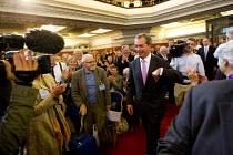 UK Independence Party leader Nigel Farage. UKIP Annual Conference, Westminster Central Hall, London. - Jess Hurd - 20-09-2013