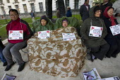 Equal rights to Gurkha widows, Whitehall protest. Westminster. - Jess Hurd - 28-10-2013