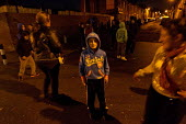 Roma children, mostly from Slovakia, play in the streets of the Page Hall area of Sheffield, Yorkshire - Jess Hurd - 18-11-2013