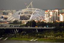 New stadium construction site. Singapore. - Jess Hurd - 22-10-2013