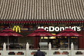 McDonald's Restaurant opposite Jiaochankou Hutong based on a traditional design, Beijing, China. - Jess Hurd - &,2010s,2013,asian,asians,capitalism,capitalist,catering,chinese,cities,city,customer,customers,design,eat,eating,EBF,Economic,Economy,fast food,fast food,fastfood,food,FOODS,Hutong,leisure,lfL,LIFE,l