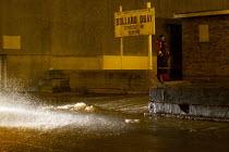 Bollard Quay, Storm surge Xavier hits Great Yarmouth, East Anglia. - Jess Hurd - 05-12-2013
