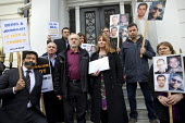 Michelle Stanistreet. NUJ and Jeremy Corbyn MP protest at the Egyptian Embassy calling for the release of all detained journalists in Egypt and an end to the crack-down on media workers. Many have bee... - Jess Hurd - 19-02-2014