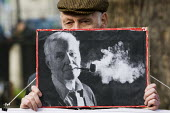 The funeral of Tony Benn, former MP and cabinet member. Westminster, London. - Jess Hurd - 27-03-2014