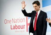 Ed Miliband MP. Labour Party Special Conference on reform of its link to trade unions, ExCel Centre, London. - Jess Hurd - 01-03-2014