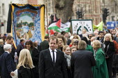 Alistair Campbell. The funeral of Tony Benn, former MP and cabinet member. Westminster, London. - Jess Hurd - 27-03-2014