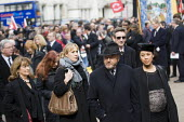 George Galloway MP. The funeral of Tony Benn, former MP and cabinet member. Westminster, London. - Jess Hurd - 27-03-2014
